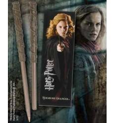 Harry Potter - Set marque-page et stylo baguette Hermione Granger