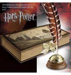 Harry Potter - Réplique plume d'écriture et encrier Poudlard