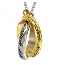 The Lord of the Rings - The One Ring Entwined Necklace