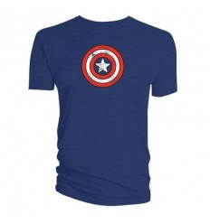 Marvel - Captain America´s Shield Distressed Navy T-shirt