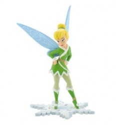 Disney Fairies - Tinker Bell Figure Winterfairy - 10 cm