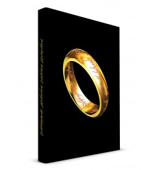 Lord of the Rings - Notebook with with Light The One Ring