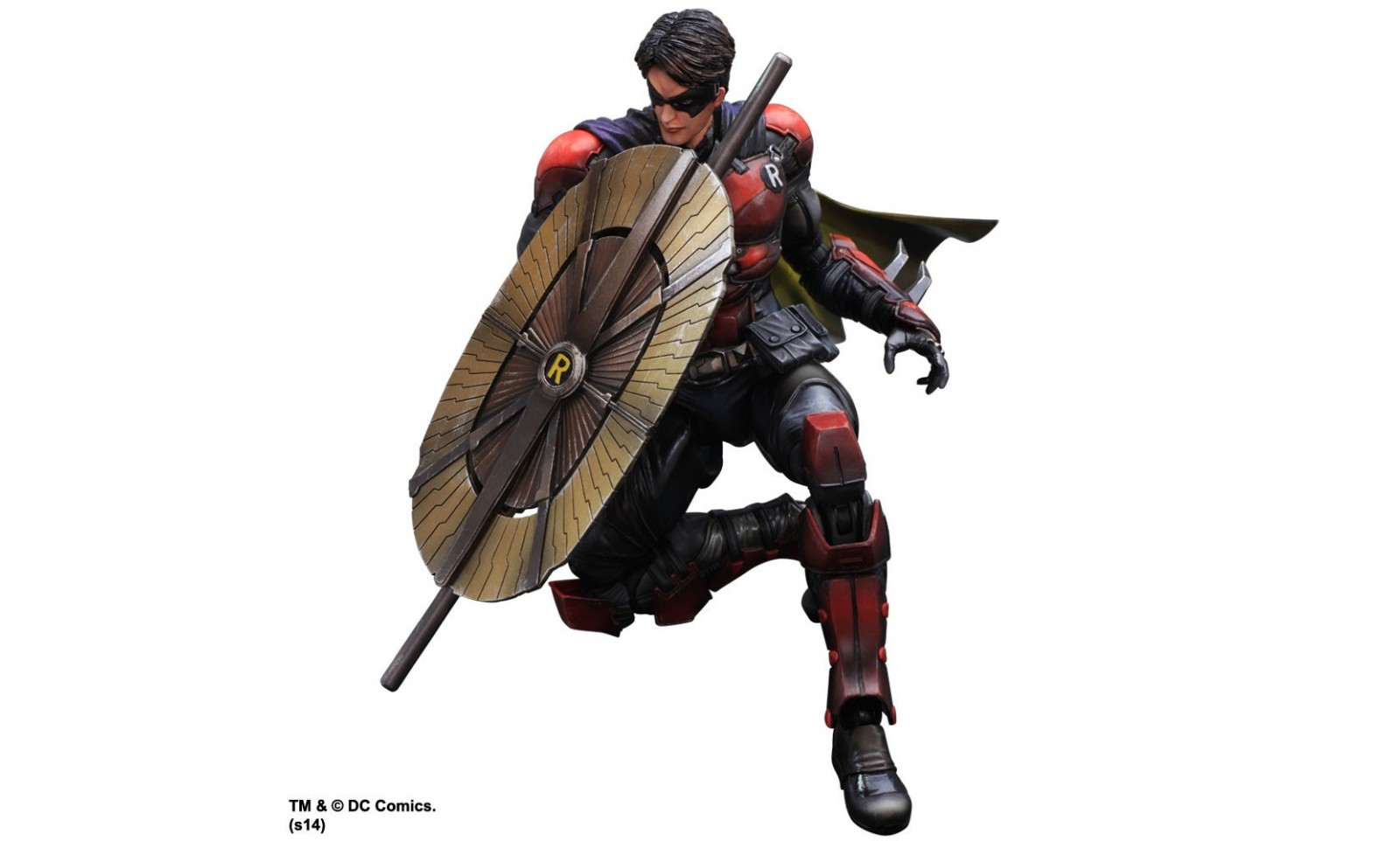 Batman Arkham Origins - Robin Play Arts Kai Action Figure ...