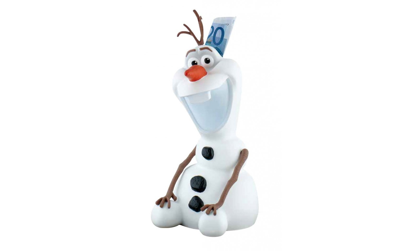 frozen olaf figure bank 24 cm disney 39 s movie film goodies. Black Bedroom Furniture Sets. Home Design Ideas
