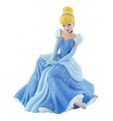 Cendrillon - Figurine Princesse Cendrillon Assise - 10 cm