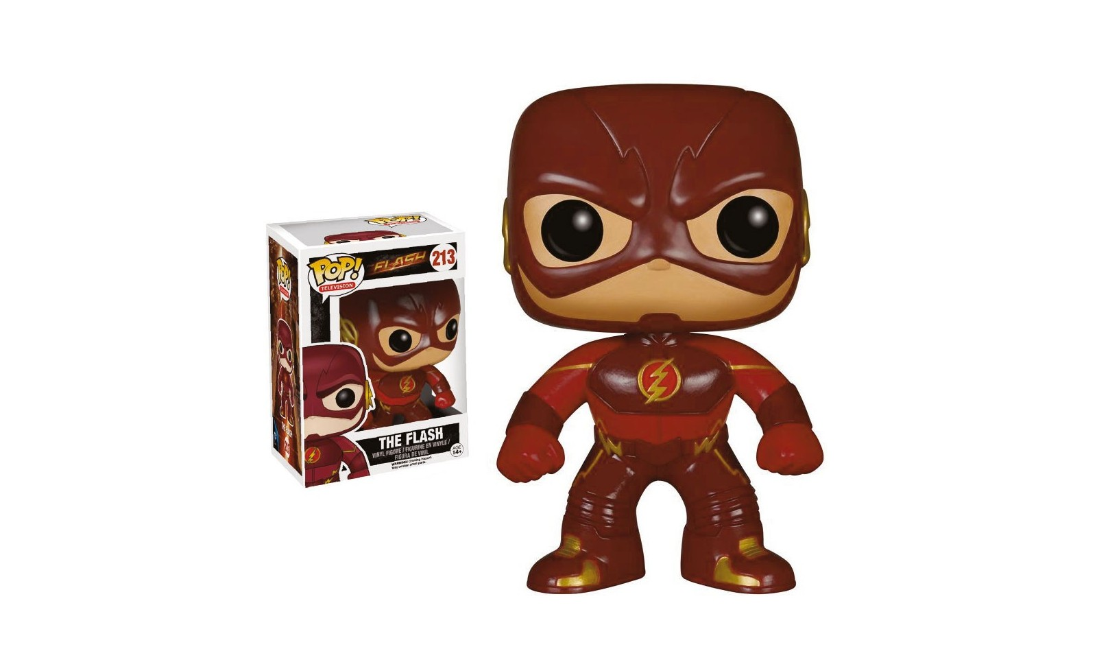 The Flash The Flash Pop Figure 9 Cm Tv Series