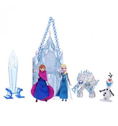 La reine des neiges coffret mini ch teau elsa film for Chateau elsa reine des neiges