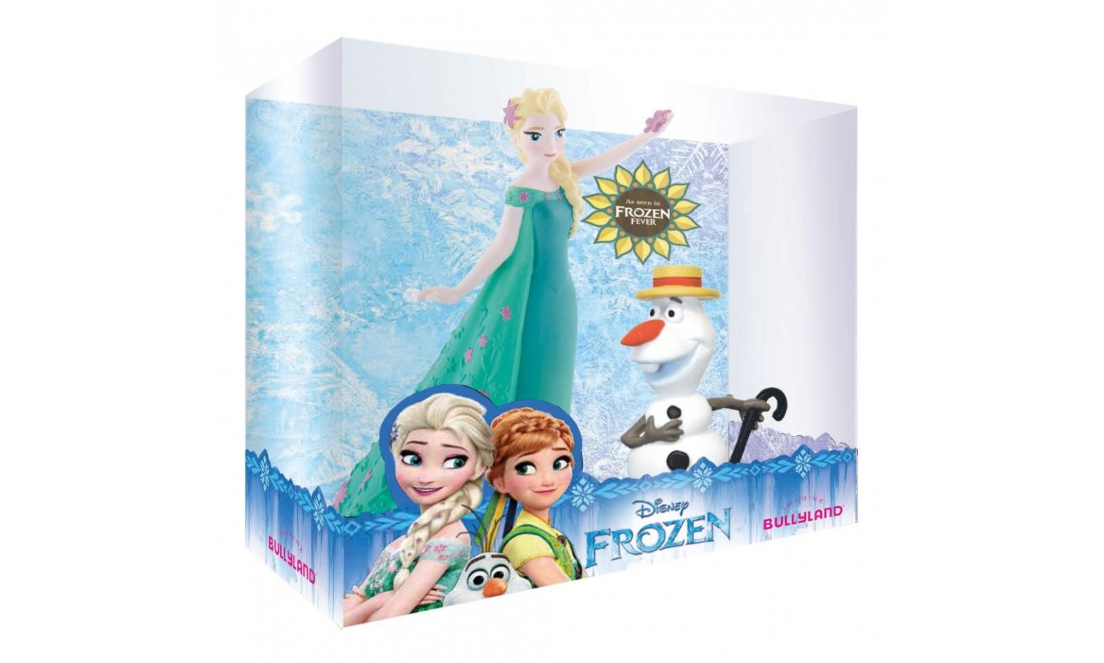 la reine des neiges une f te givr e coffret de 2 figurines elsa et olaf cin ma animation. Black Bedroom Furniture Sets. Home Design Ideas