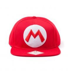 Super Mario - M Logo Baseball Cap