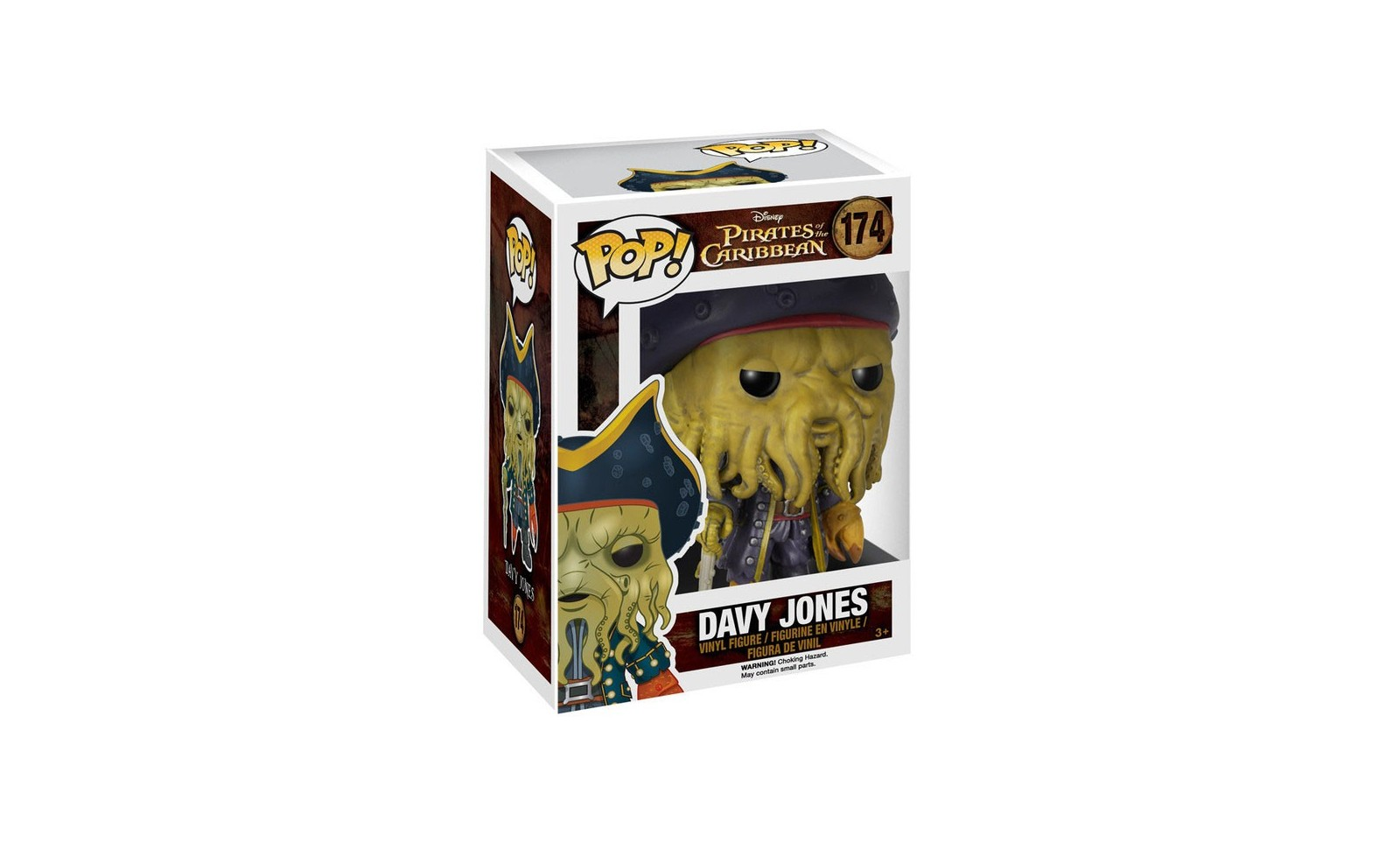 des caraibes le secret du coffre maudit figurine pop davy jones 9 cm cin 233 ma