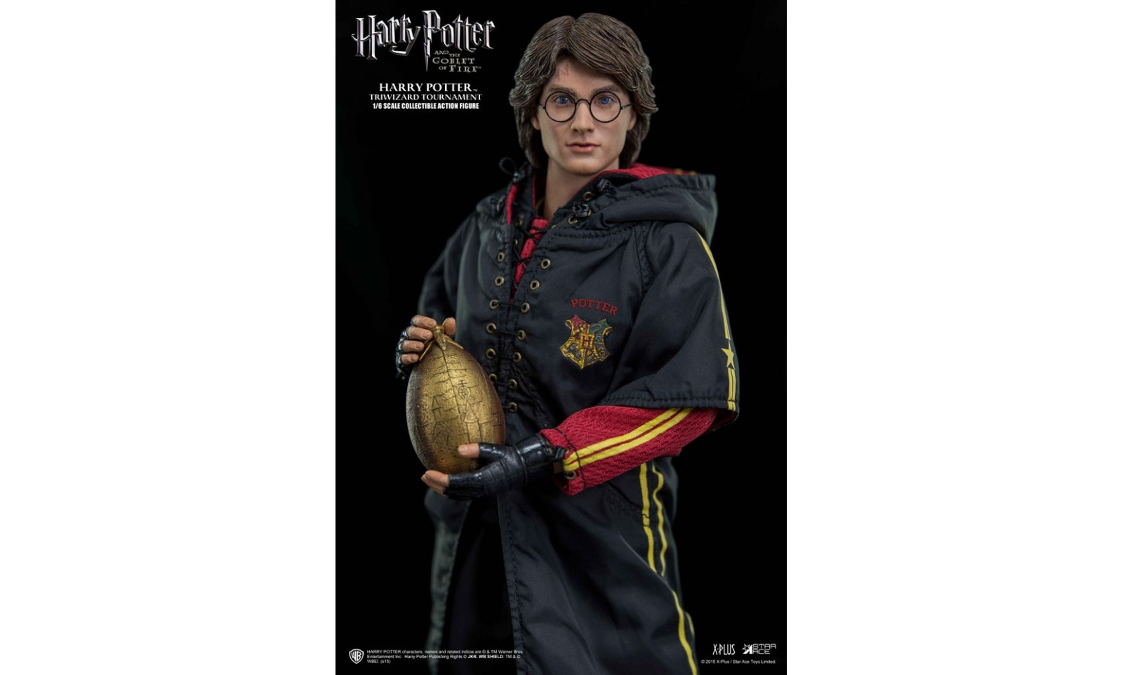 Harry potter et la coupe de feu my favourite movie figurine 1 6 harry potter tournoi des trois - Film harry potter et la coupe de feu ...