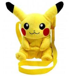 Pokemon - Sac à bandoulière Peluche Pikachu