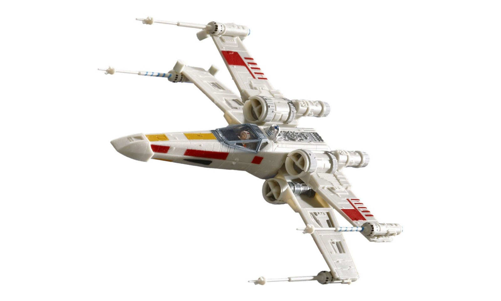star wars maquette vaisseau luke skywalker x wing fighter 11 cm r plique cin ma film. Black Bedroom Furniture Sets. Home Design Ideas