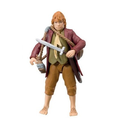 The Hobbit: An Unexpected Journey - Bilbo Baggins Figure - 7 cm