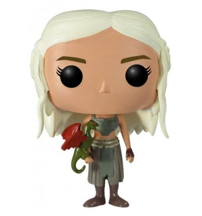 Game Of Thrones Daenerys Targaryen Bobble Head Pop