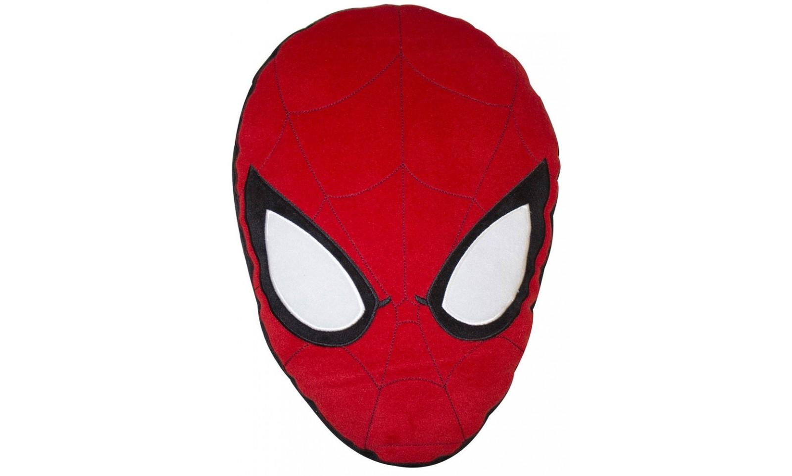 Spider Man The City Cushion Spider Man Head 27 X 40
