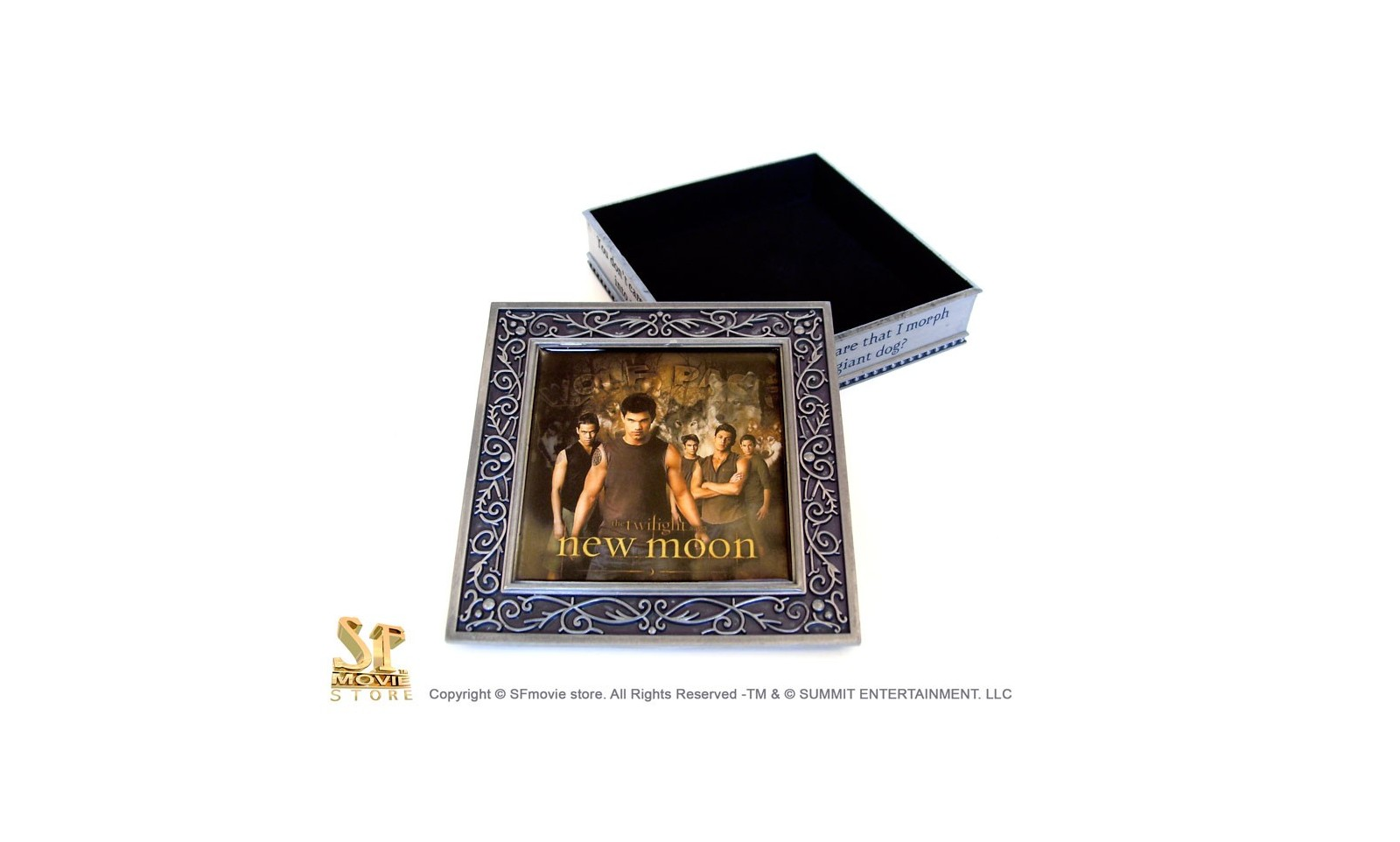 Twilight New Moon Wolf Pack Jewelry Box Movie film decorations