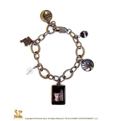 Twilight: New Moon - Jacob Chunky Charm Bracelet