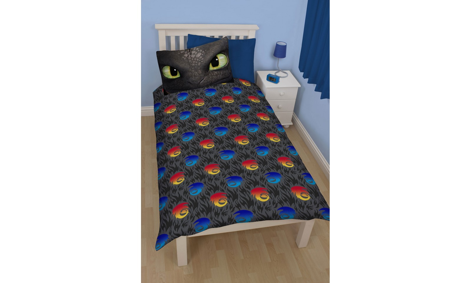 How to train your dragon toothless reversible duvet set pillow how to train your dragon toothless reversible duvet set pillow case duvet cover ccuart Image collections