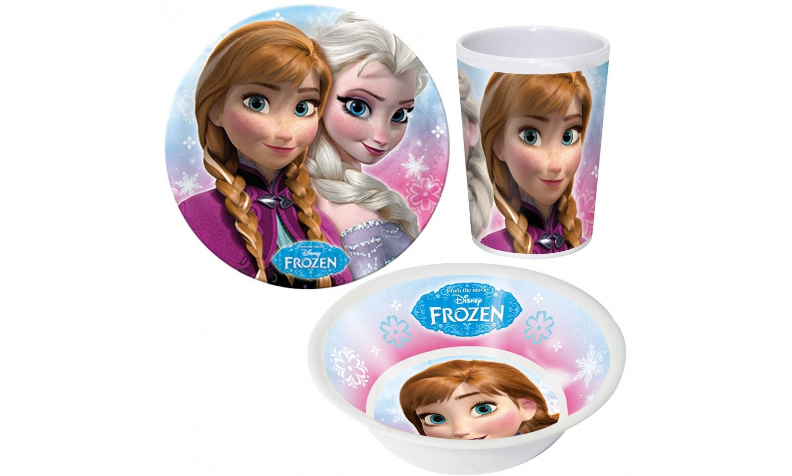 La reine des neiges set petit d jeuner anna et elsa goodies film cin ma verre disney - Anna elsa reine des neiges ...