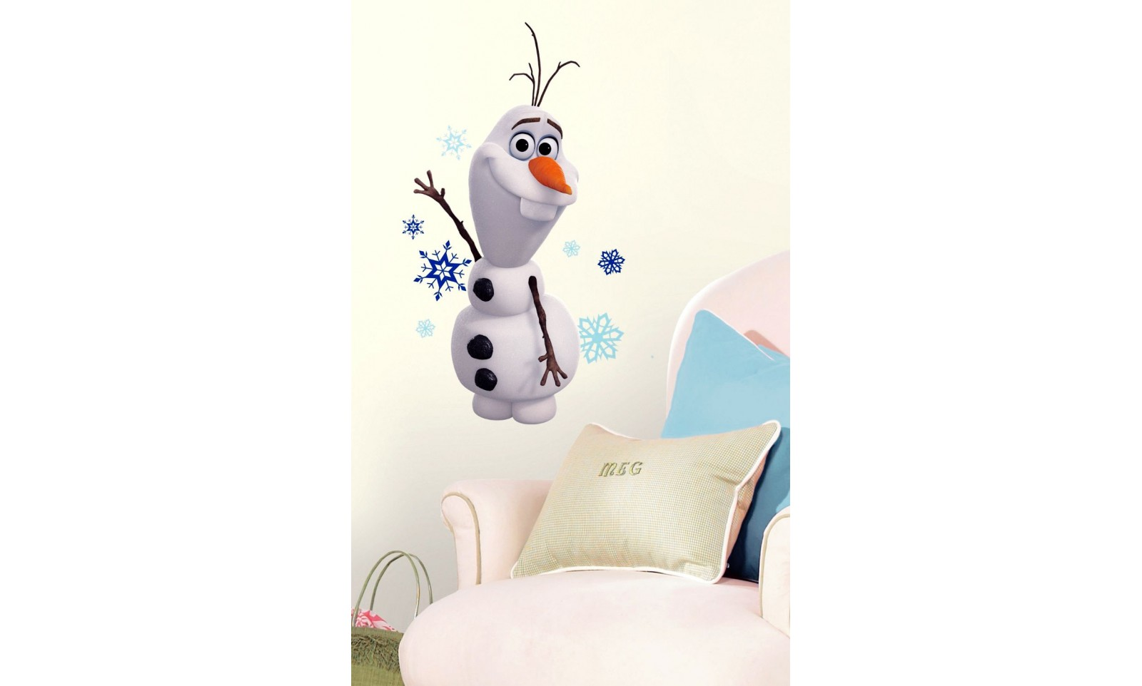 La reine des neiges stickers olaf d co film cin ma - Reine des neiges olaf ...