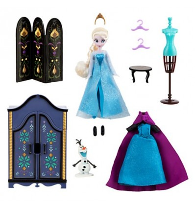 La reine des neiges coffret garde robe elsa cin ma - Robe elsa reine des neiges ...