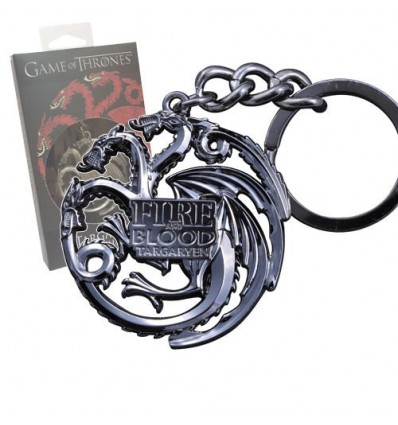 Game of Thrones - Targaryen Sigil Metal Keychain