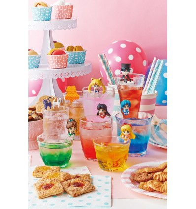 Sailor Moon - Pretty Soldier Ochatomo Series - Moon Prism Cafe Trading Figure - 5 cm