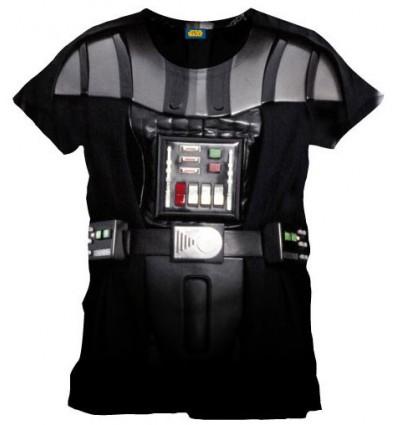 Star Wars - T-Shirt Costume Dark Vador
