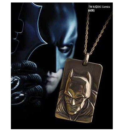 Batman: The Dark Knight - Bronze Relief Necklace Pendant