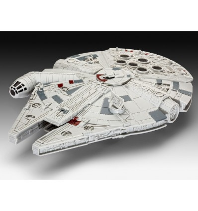 Star Wars, épisode VII : Le Réveil de la Force - Maquette lumineuse et sonore du Vaisseau Faucon Millennium - 20 cm
