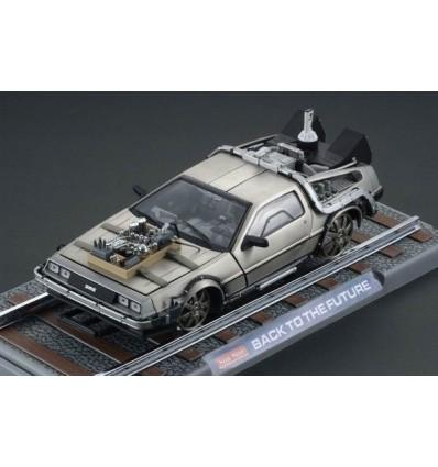 Back to the Future 3 - Diecast Model ´81 DeLorean Replica - Railroad Version - 25 cm
