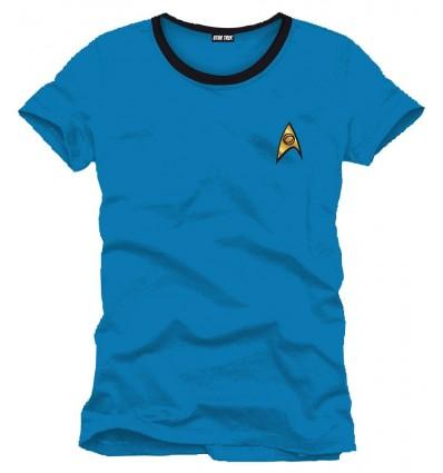 Star Trek - T-Shirt Uniforme bleu