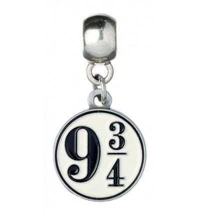 Harry Potter - Platform 9 3/4 (silver plated) Charm Pendant