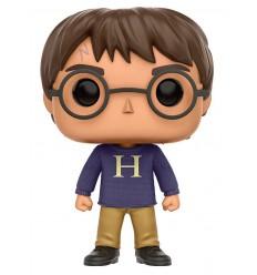 Harry Potter - Figurine POP Harry Potter avec Sweater - 9 cm