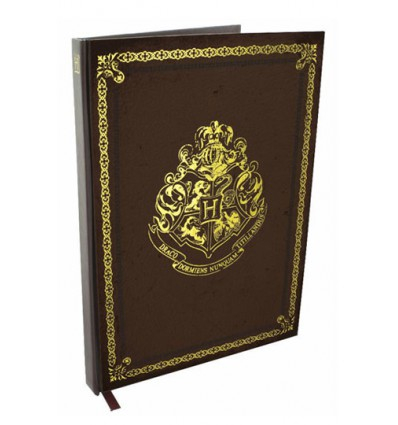 Harry Potter - Cahier Relié Armoiries Poudlard