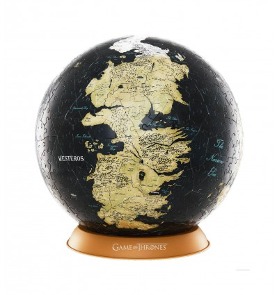 Game of Thrones - Puzzle 3D Globe Unknown World (60 pièces)