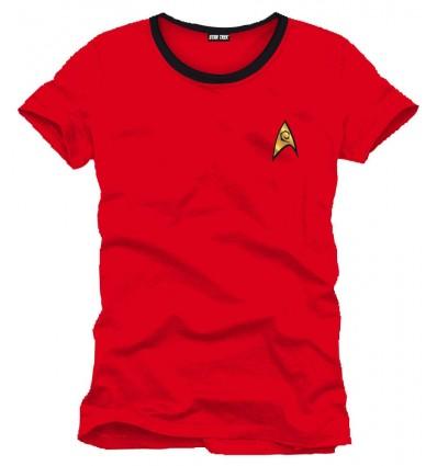 Star Trek - Red Uniform T-Shirt