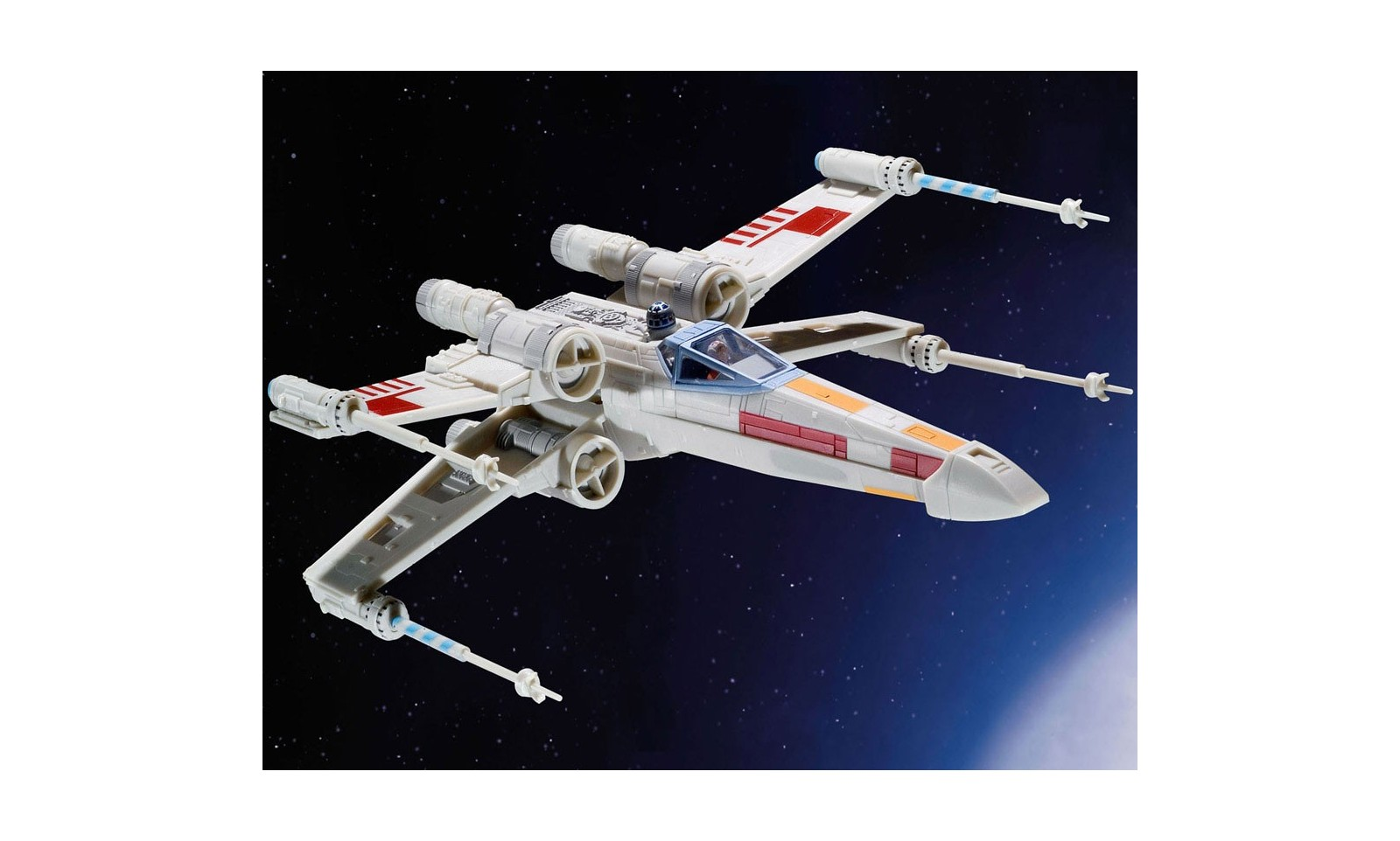 Star wars maquette vaisseau luke skywalker x wing fighter 22 cm r plique film cin ma - Vaisseau star wars anakin ...