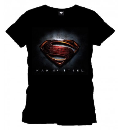Superman - Man of Steel Logo T-Shirt