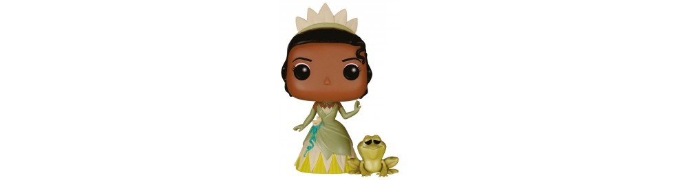 The Princess and the Frog Figures